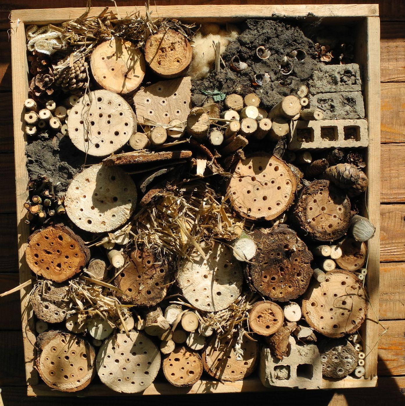 insektenhotel lebensraum permakultur. Black Bedroom Furniture Sets. Home Design Ideas