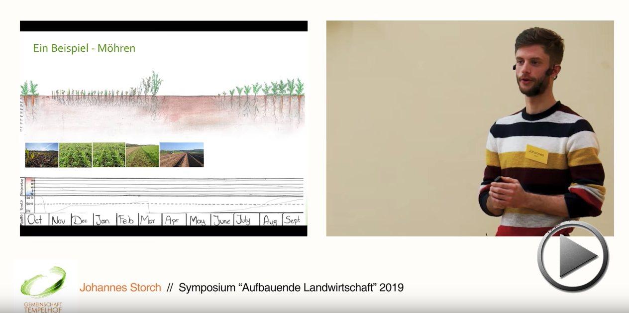 """Präsentation: Mulchsysteme im Gemüsebau. Johannes Storch. Symposium """"Aufbauende Landwirtschaft"""" 2019"""