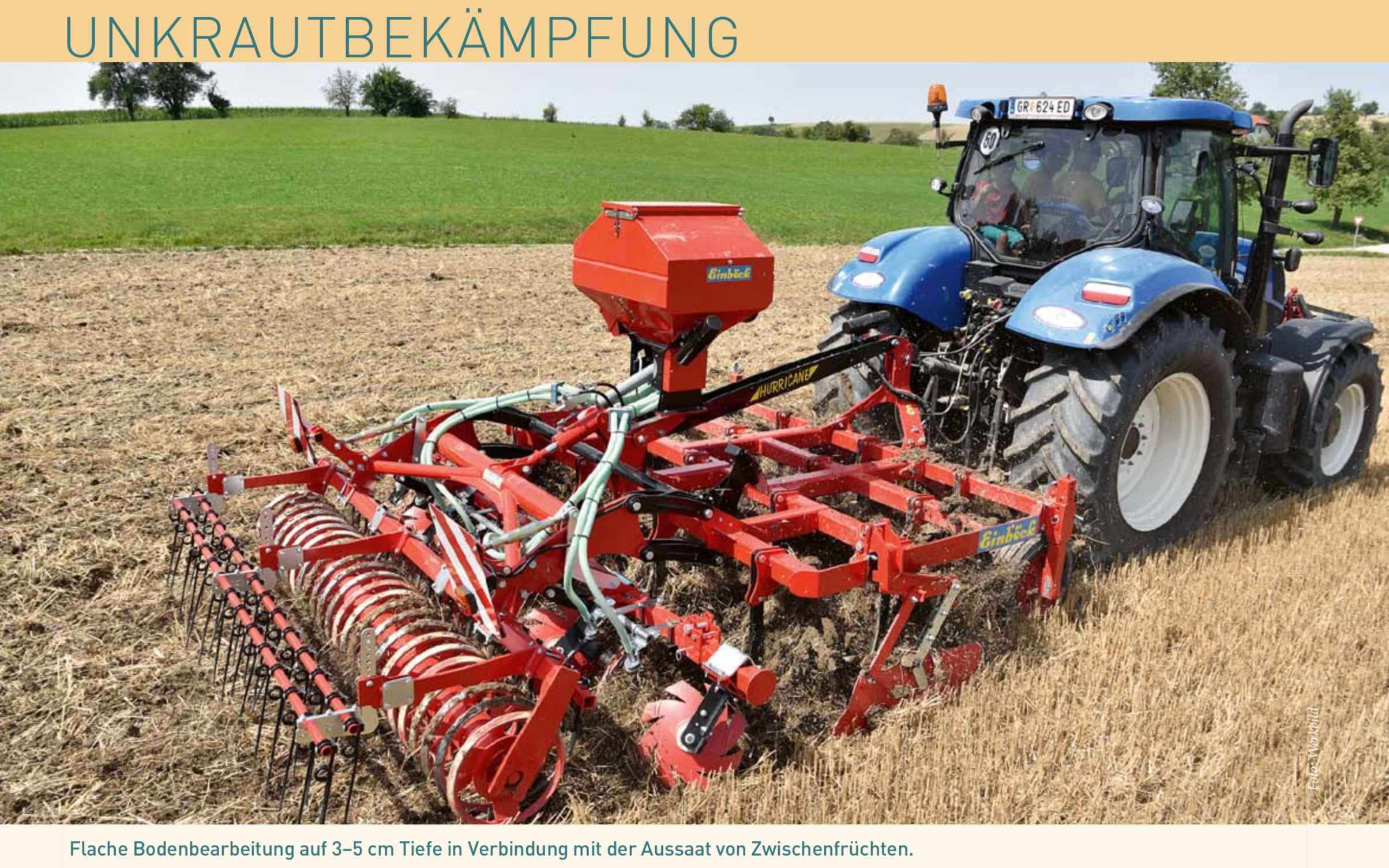 Alternativen zur Nutzung von Glyphosat – Methoden einer Ressourcen aufbauenden Landwirtschaft