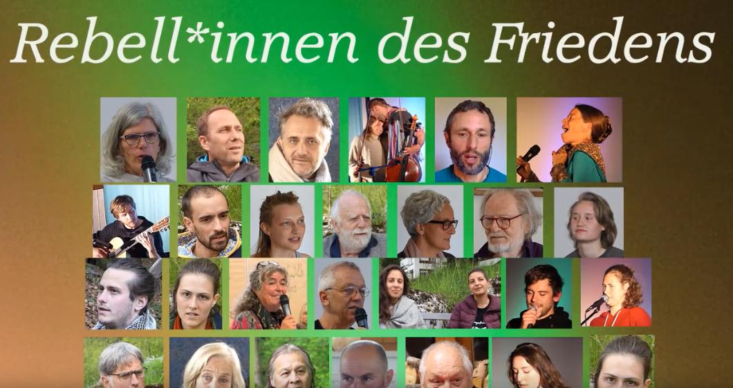 Online-Kongress »Rebell*innen des Friedens« vom 22.11. – 1.12.2019