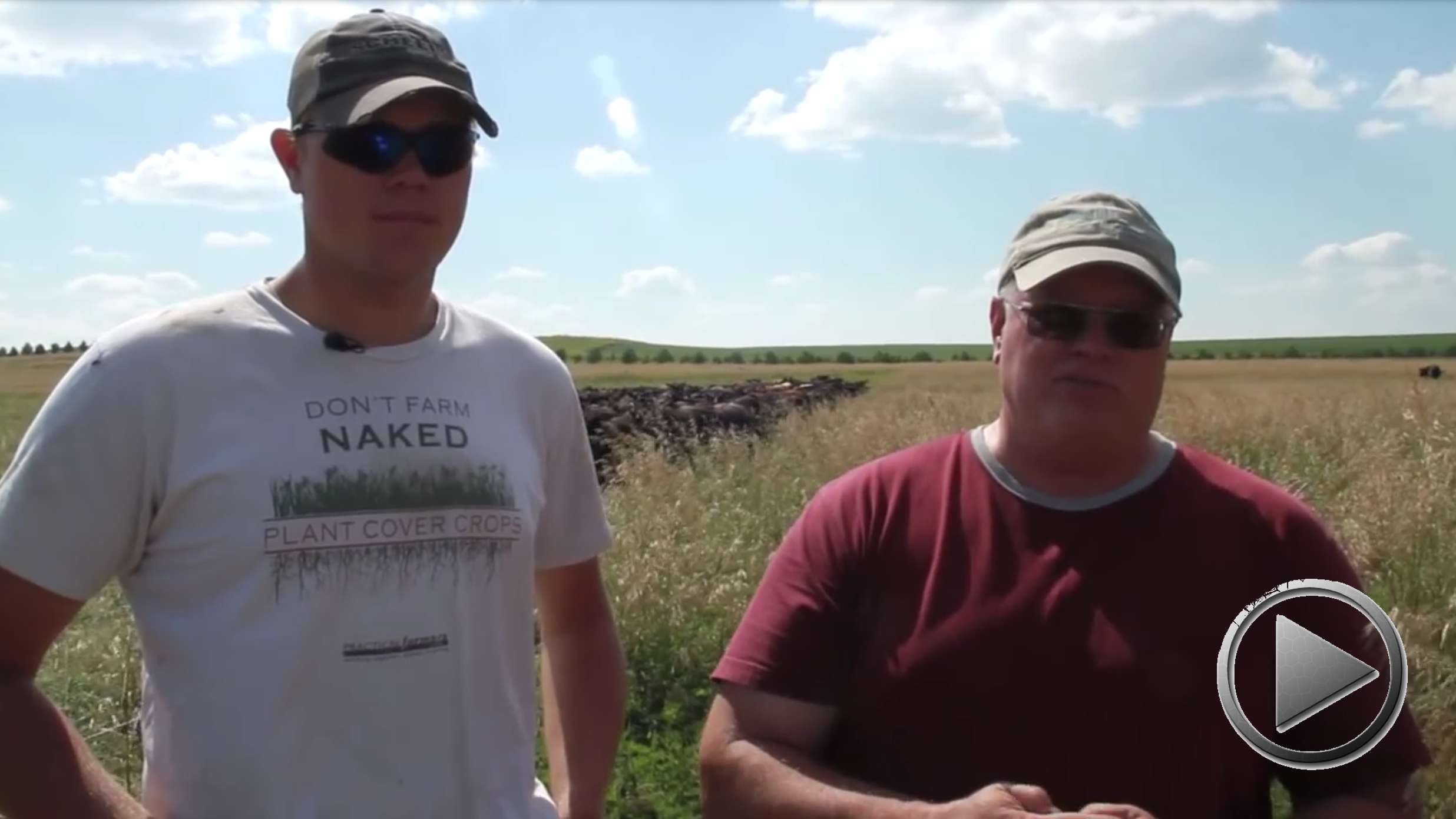 Regenerative Ranching in North Dakota. Gabe Brown