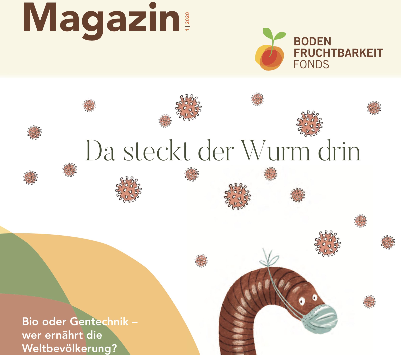 Aktuelles Magazin des Bodenfruchtbarkeitsfonds