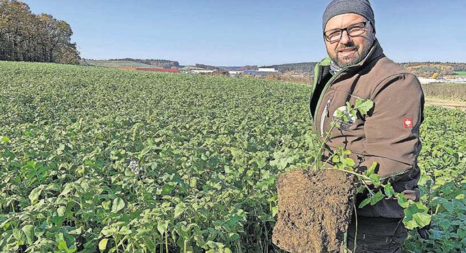 Artikel: Der Landwirt mit guter Erde