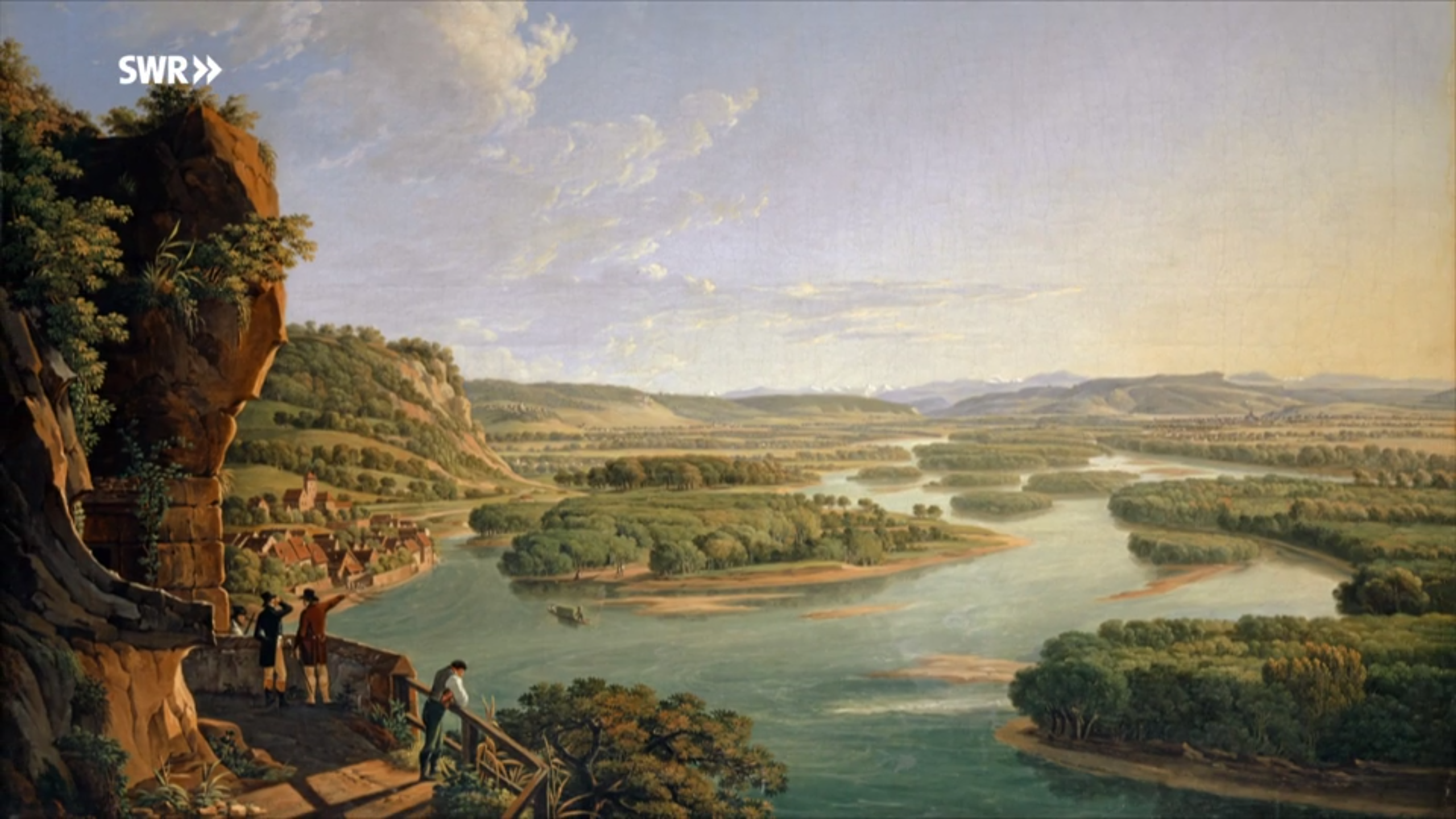 Wilder Fluss, sicheres Land – Flussbaumeister Tulla am Rhein