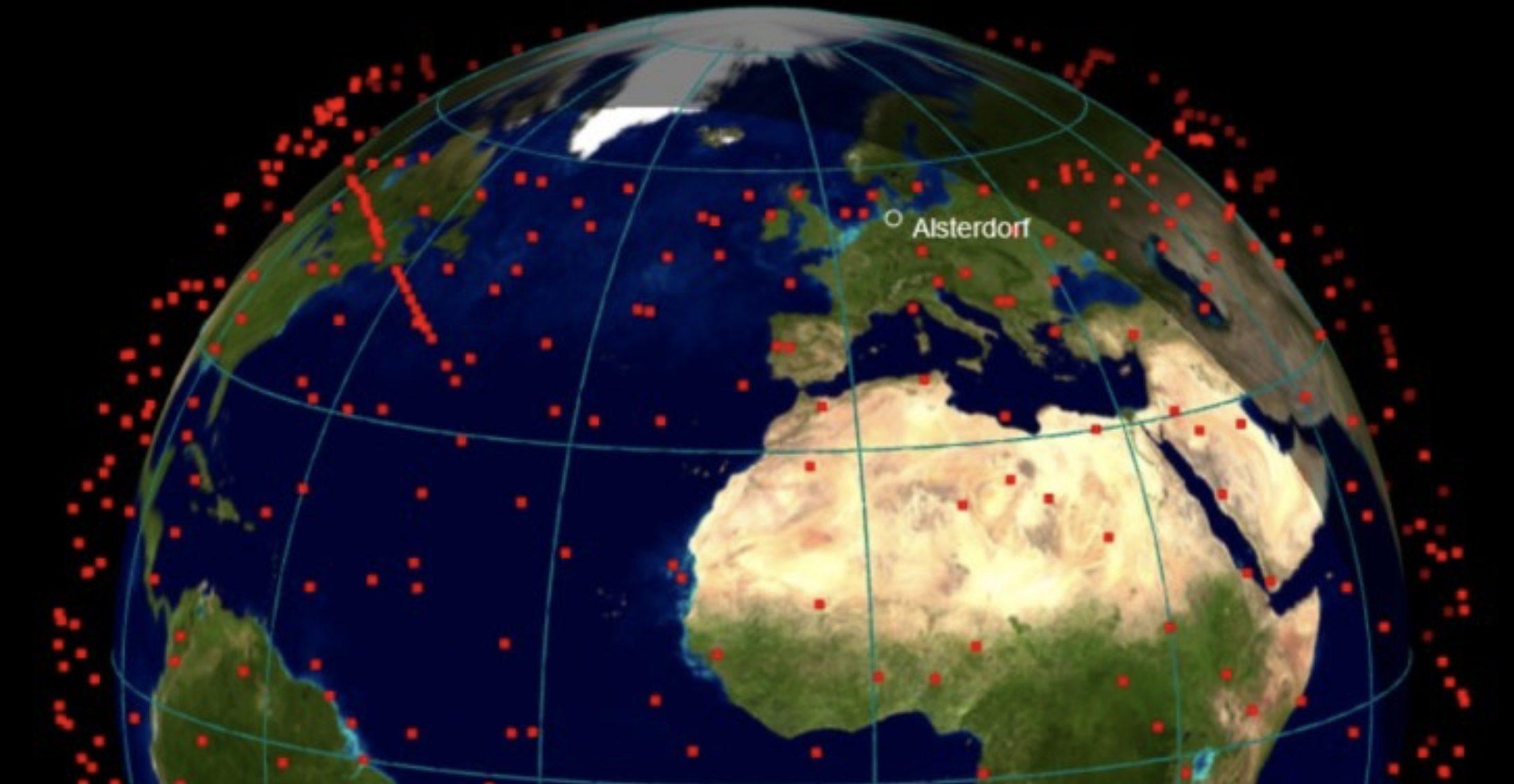 Aluminium im Orbit. Verglühende Satelliten bedrohen Atmosphäre, Ozonschicht und die Erde