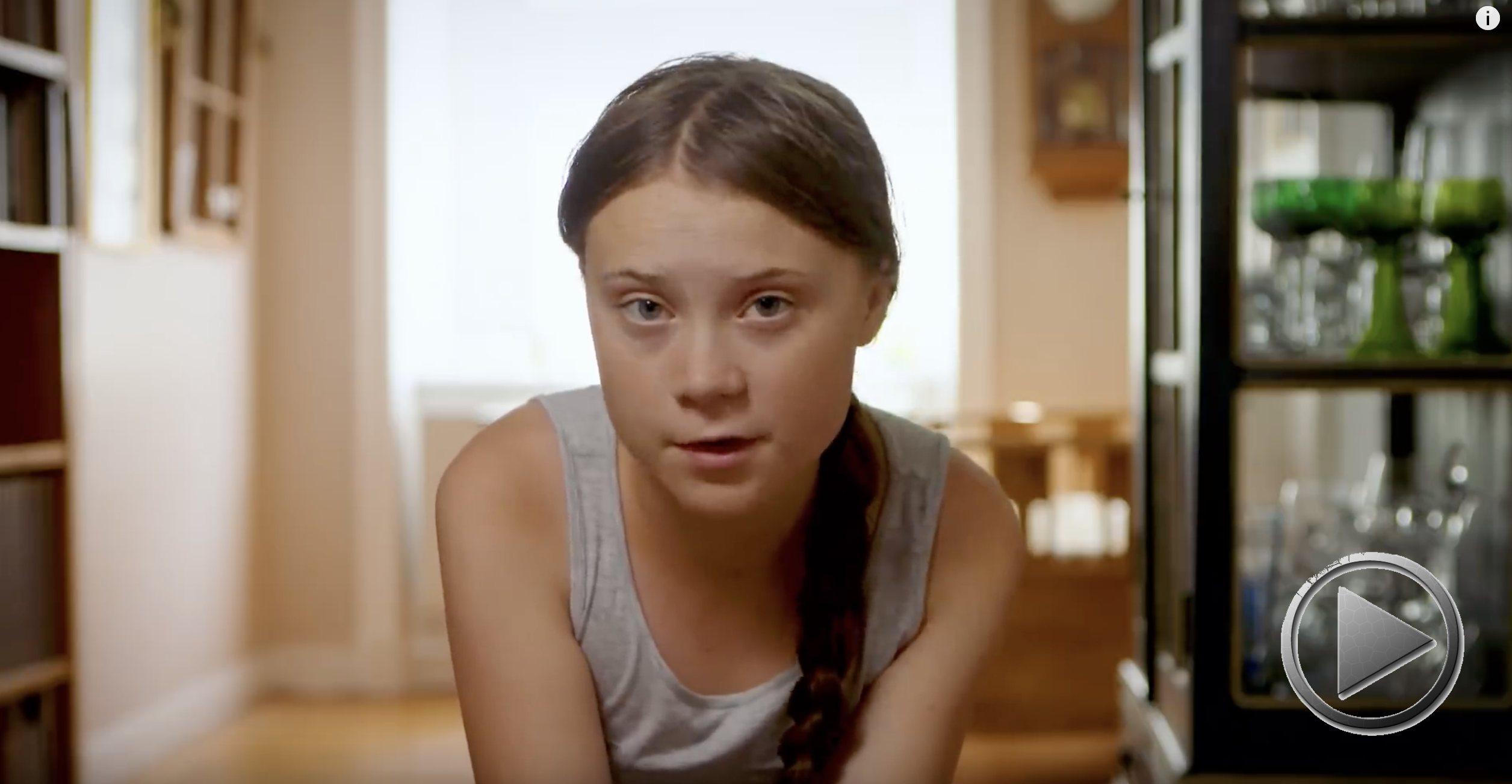 Greta Thunberg – Ein Aufruf, die natürlichen Lösungen zu nutzen