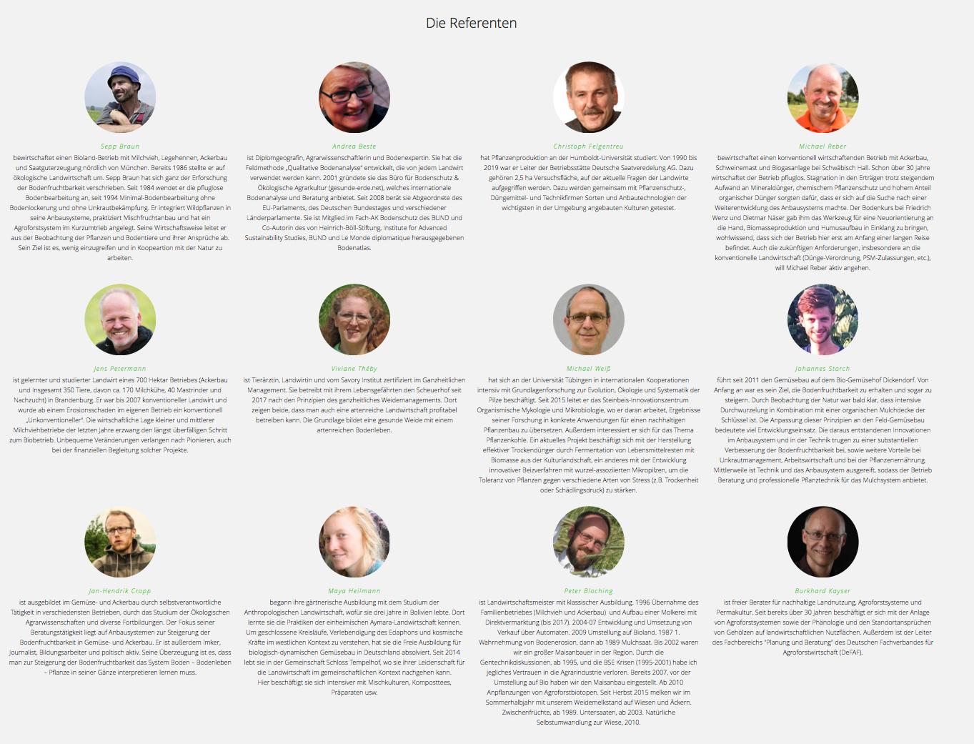 Erste Webinar-Reihe zur »Aufbauenden Landwirtschaft« – die Webinare im Webshop