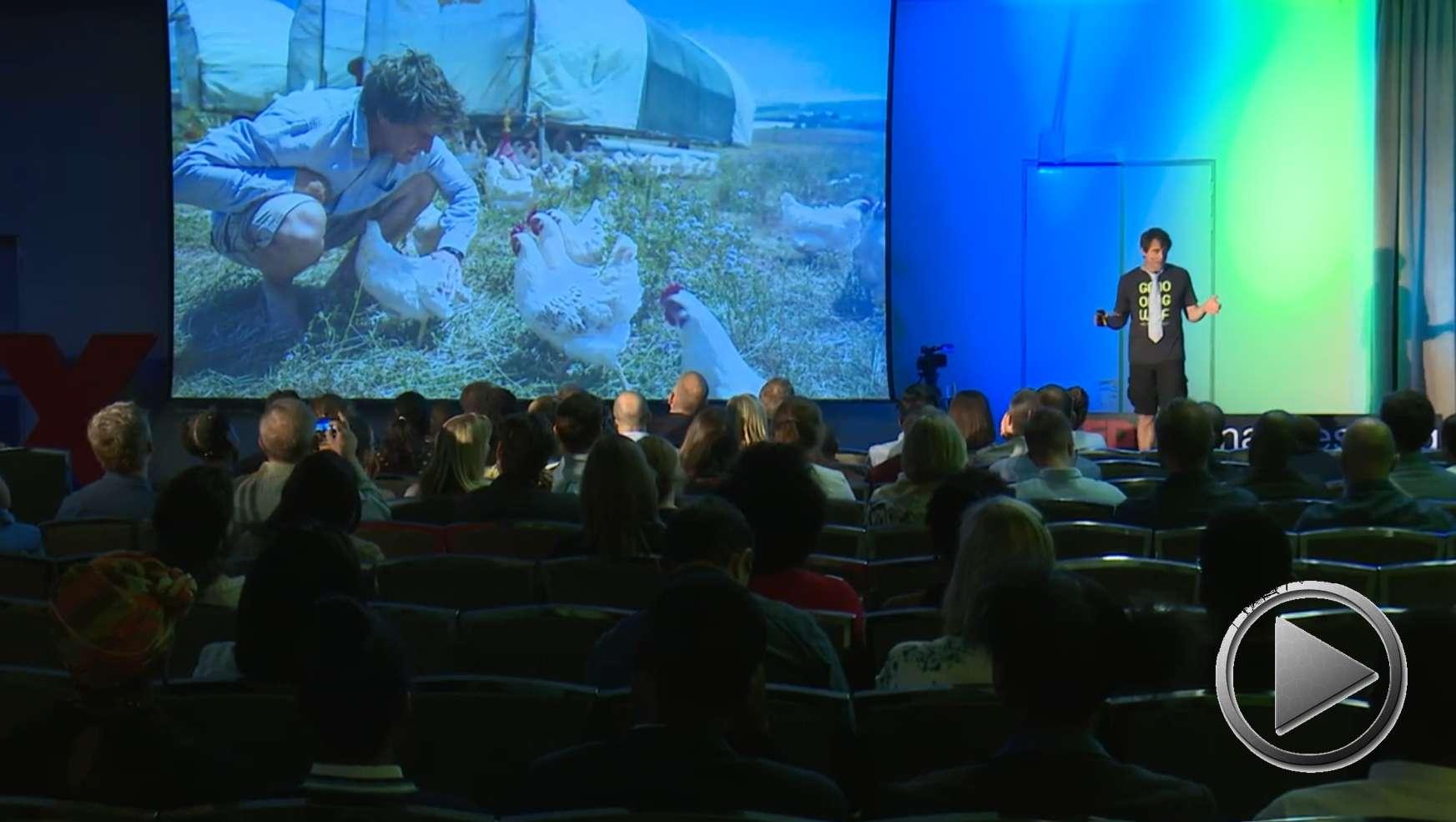 Präsentation: Der Mann mit dem Schlips. Vom Banker & Berater zum regenerativen Landwirt. Angus McIntosh