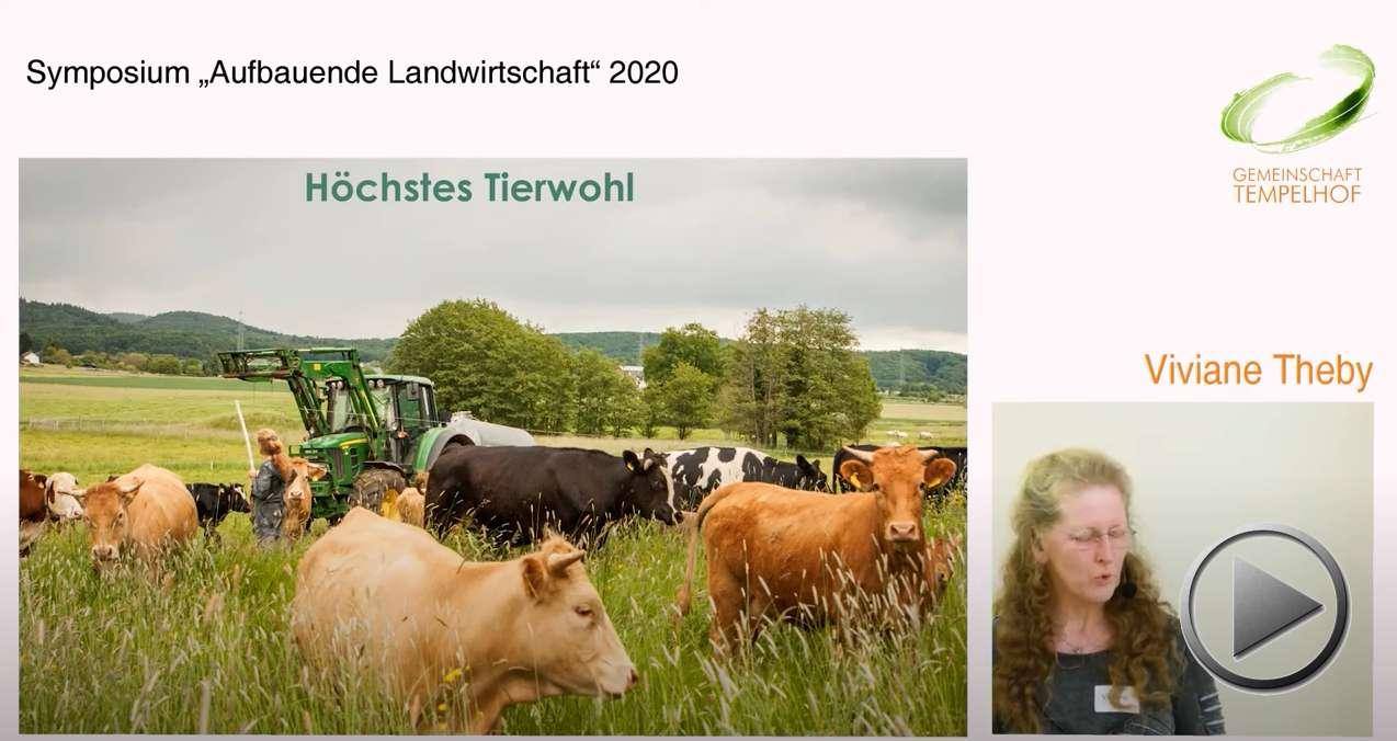 """Präsentation: Holistisches Weidemanagement. Viviane Theby. Symposium """"Aufbauende Landwirtschaft"""" 2020"""