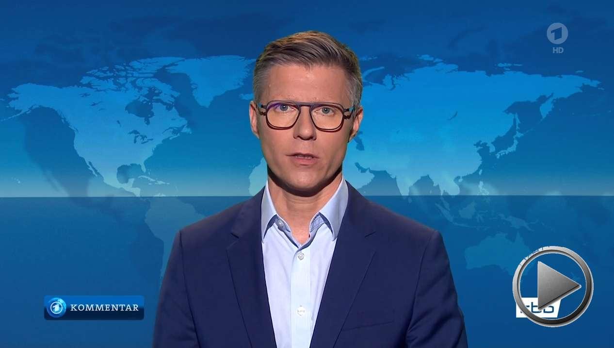 tagesschau: Justus Kliss, RBB, kommentiert das Verhältnis von Landwirtschaft und Klimawandel