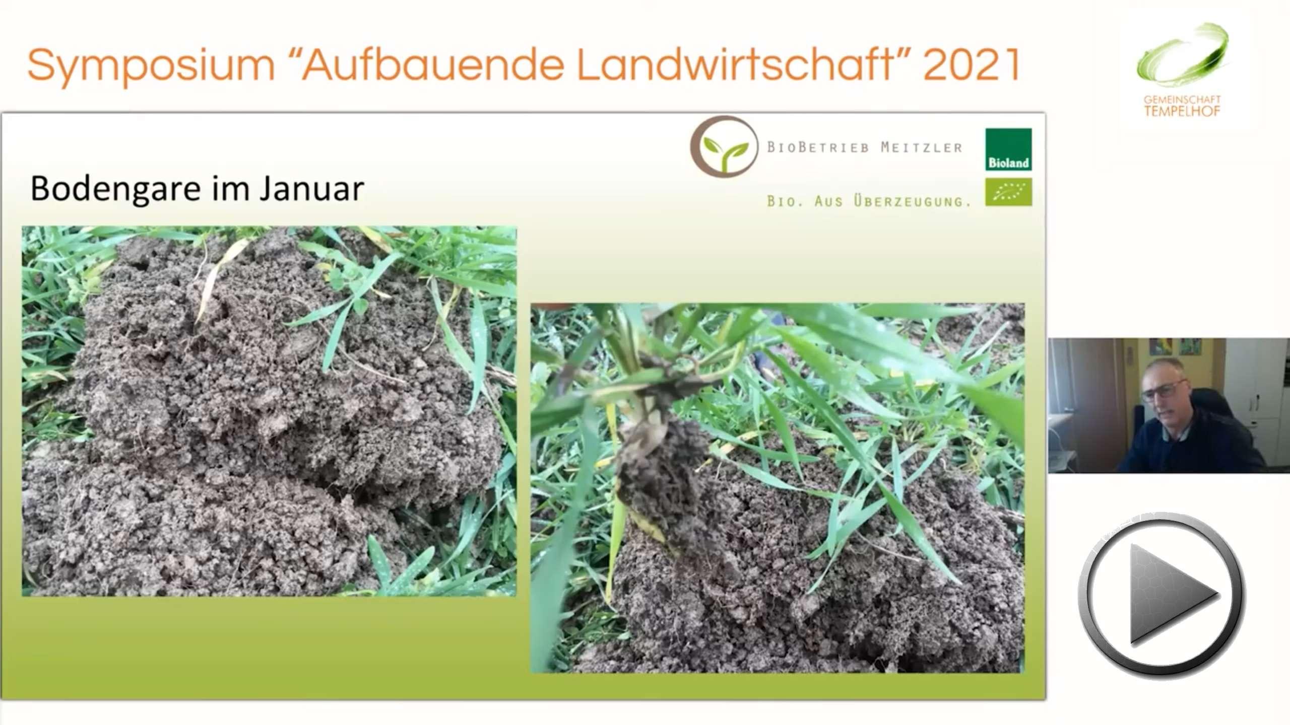 """Präsentation: Armin Meitzler // Mit Vielfalt zum Erfolg für Mensch & Natur // Symposium """"Aufbauende Landwirtschaft"""" 2021"""